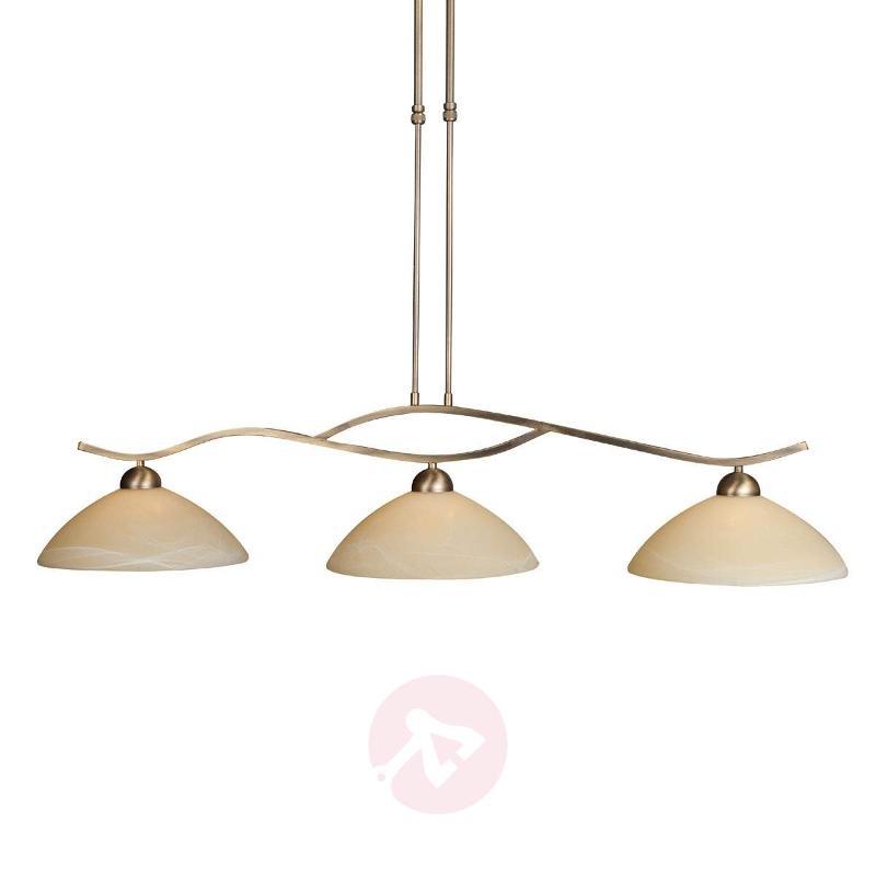 3-bulb Capri hanging light - Pendant Lighting