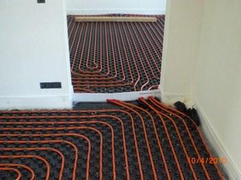 Pompe à chaleur - Chauffage par le sol