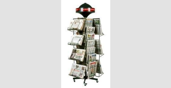 Tourniquet pour journaux
