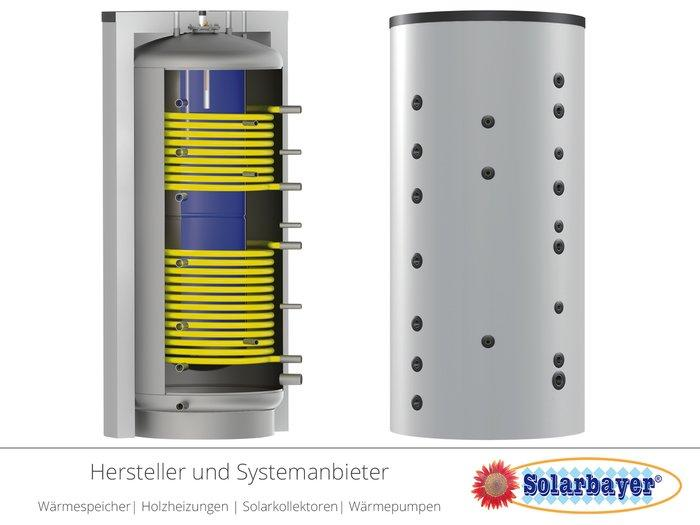 Solarbayer Kombispeicher  - Kombi-ÖKO (Tank-in-Tank)