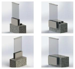 Glass Railing - AIRCLOS B115