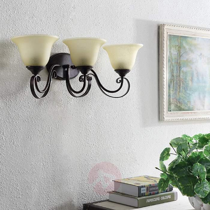 Attractive LED wall light Svera with three bulbs - Wall Lights