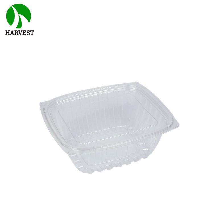 Harvest Disposable Ops Salad Cookies Fruit Bowl Container With Lid - Salad Containers