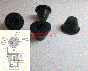 silicone rubber stopper - silicone bungs Manufacturer custom made excavator used dust proof rubber stopper