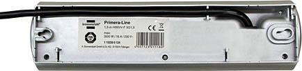 Primera-Line extension socket 4-way silver 1,5m - null