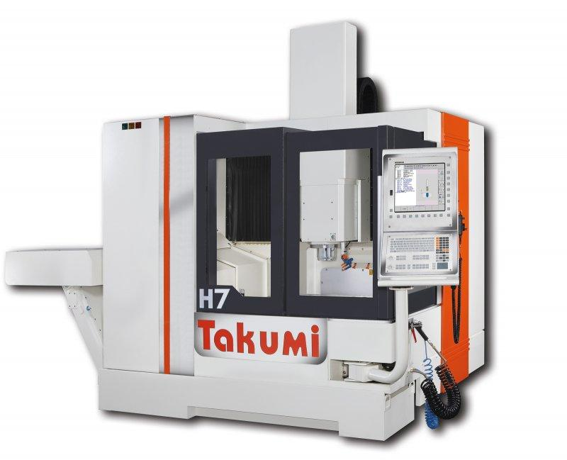 3-Axis-Machining-Center - H7 - 3-Axis-machine-center for construction and forming of tools, H7, Takumi