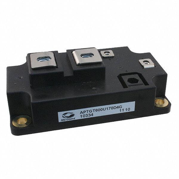IGBT TRENCH SGL SWITCH 1700V D4 - Microsemi Corporation APTGT600U170D4G