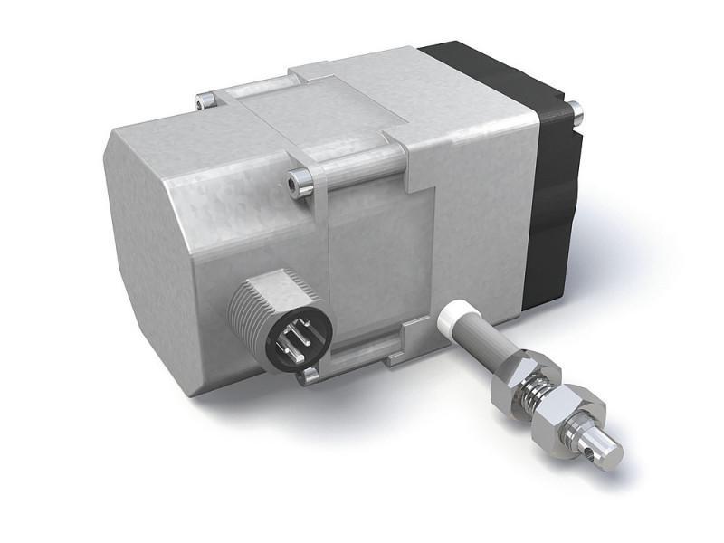 Sensor de tracción por cable SG20 - Sensor de tracción por cable SG20, Forma constr. peq. de fundic. inyec, de cinc