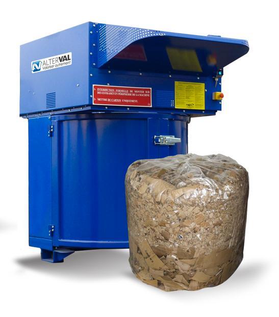 VALPAK® Compacteur rotatif de déchets - Type de déchets