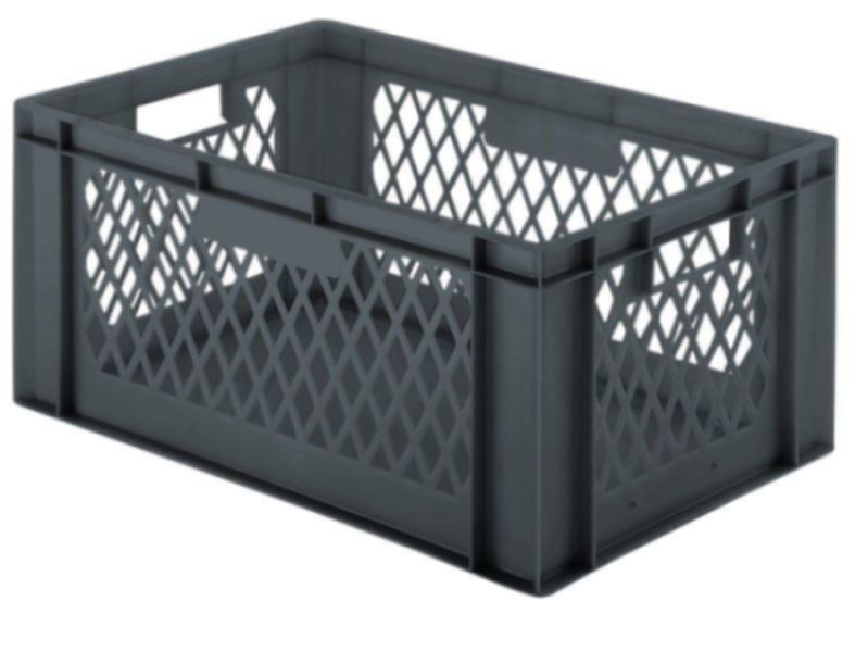 Stacking box: Dina 270 2 - Stacking box: Dina 270 2, 600 x 400 x 270 mm