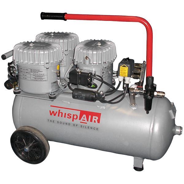 Whispair mobiler Kompressor CW150/50 - Ölgeschmierte Flüsterkompressoren