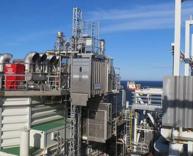 GEDA SH - GEDA SH - Industrieaufzüge