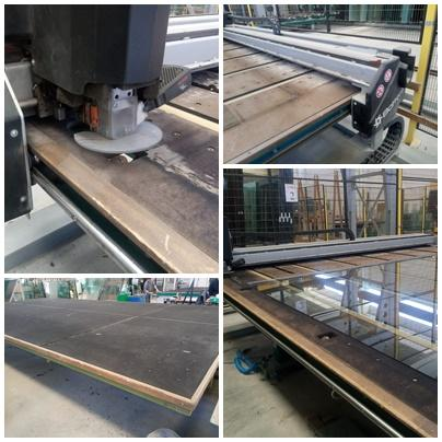 BOTTERO 341 BCS-J - Year 2007 - Float Glass Cutting Table