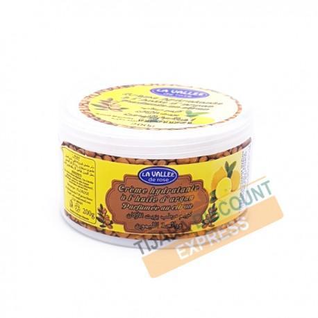 Crème Hydratante À L'huile D'argan Parfumée Au Citron - Soins & beauté