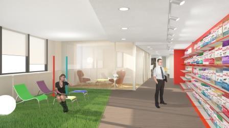 Progettazione di uffici e negozi