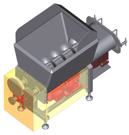 Crèmeur I Cheese-mixer - or manufacturing soft cheese I for mixing the cheese mass