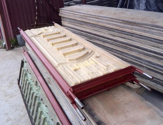 Форма для производства забора - стеклопластиковая, 100 видов forms for concrete fences