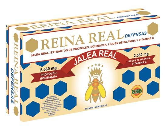 Royal Jelly Defenses - REINFORCES THE DEFENSES