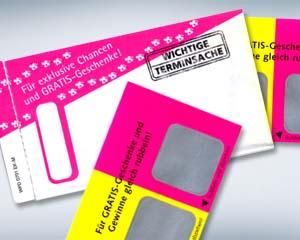 Kuverts, Hüllen, Folien - Gimmicks