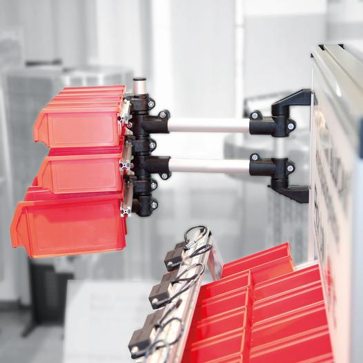Bracci portanti - bracci orientabili - Altamente resistente, flessibile e personalizzabile