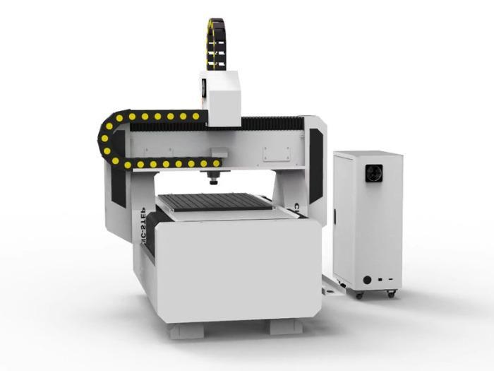 T-Rex N-0609 - CNC Portalfräsmaschine mit Zahnstangen, Stahlgestell und Faltenbelägen