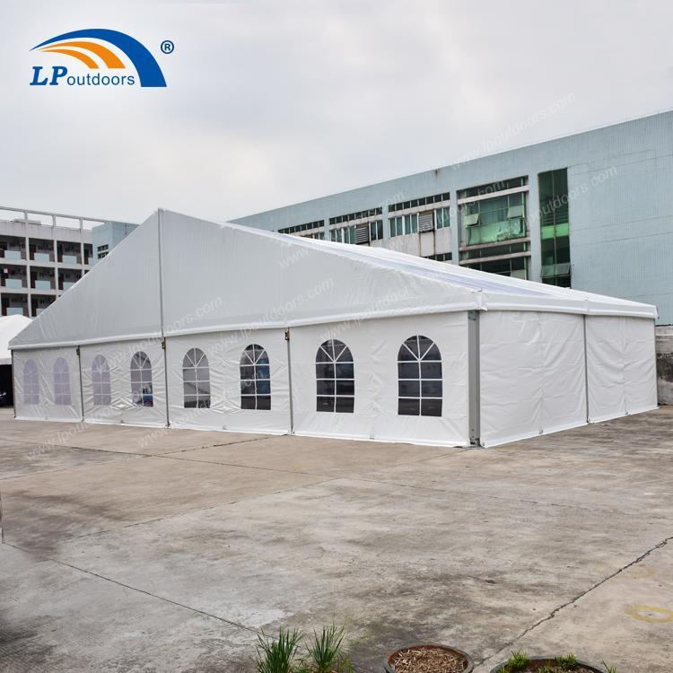 Tienda de almacenamiento industrial de tramo claro de fábric - Tienda de fiesta de 20 metros de LP OUTDOORS