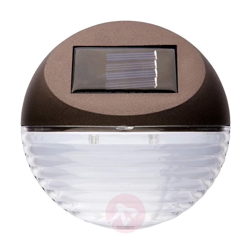 Fency - LED solar wall light in set of 3 - outdoor-led-lights