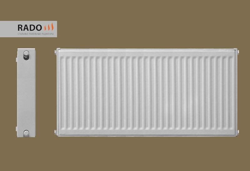 Стальной панельный радиатор Rado 22x500x1000 - Стальной панельный радиатор Rado 22x500x1000, 22 тип, гарантия 10 лет