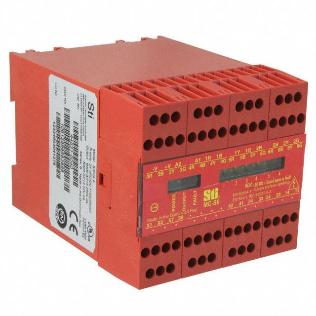 CONTROL SAFETY INTERLCK 100/220V - Omron Automation and Safety MC-S6