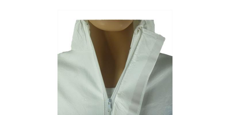 White Microporous Coverall -