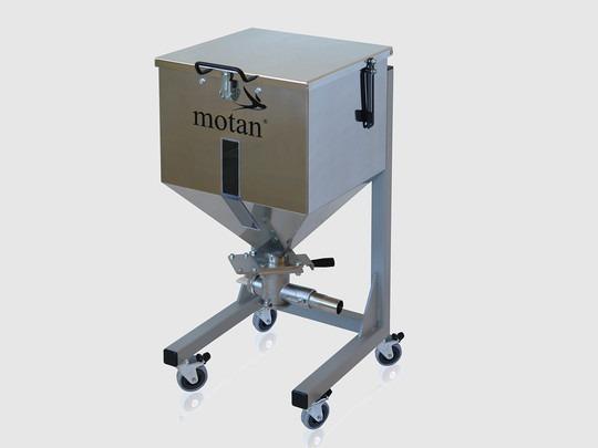 Depósito de inertización BB 60 - Impide la pérdida de material y la reabsorción de humedad