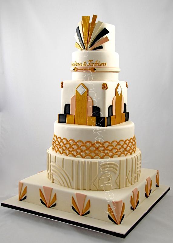 Gâteaux et Pièces Montées sur-mesure - Pièce Montée Années Folles