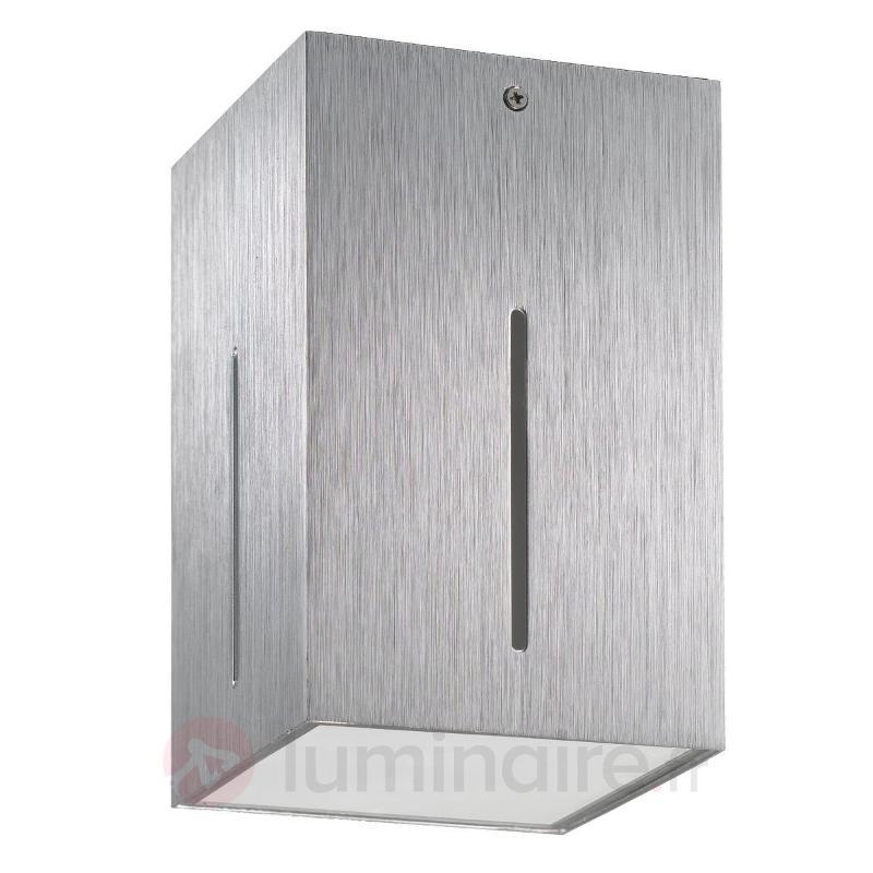Plafonnier IKARO sobre et fonctionnel aluminium - Tous les plafonniers