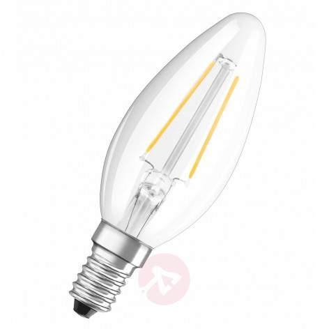 E14 2 W 827 retrofitLED candle bulb twisted - light-bulbs