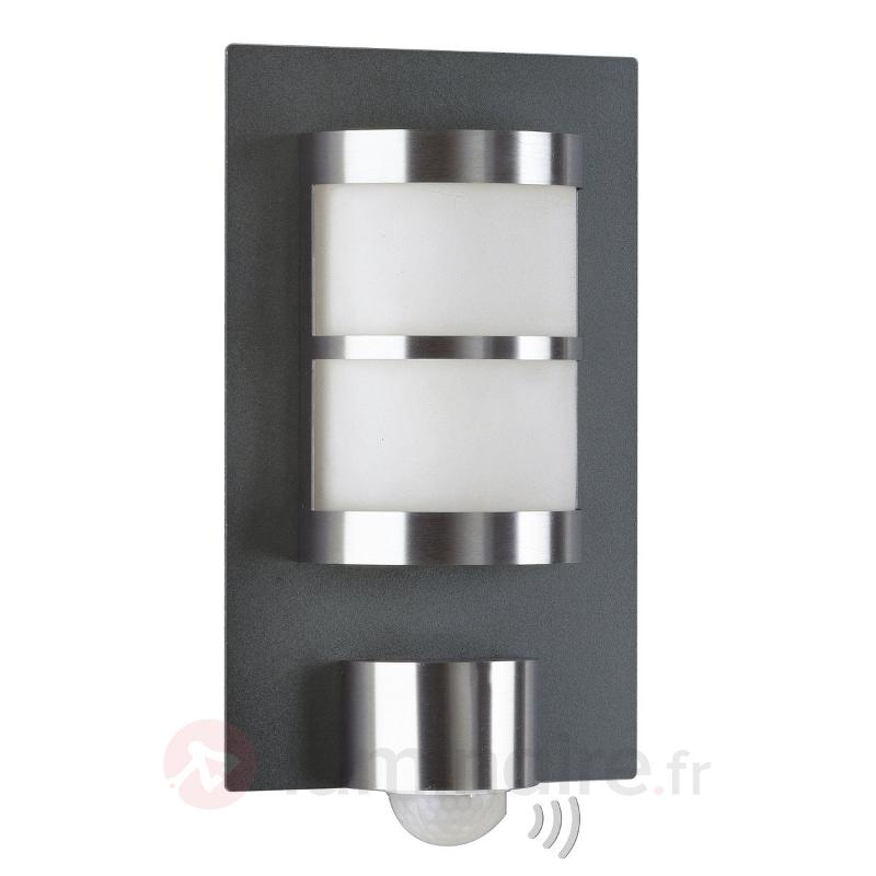 Belle applique d'extérieur Adonia avec détecteur - Appliques d'extérieur avec détecteur