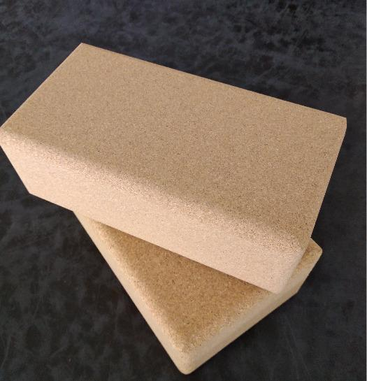 Fine grain cork block - Yoga