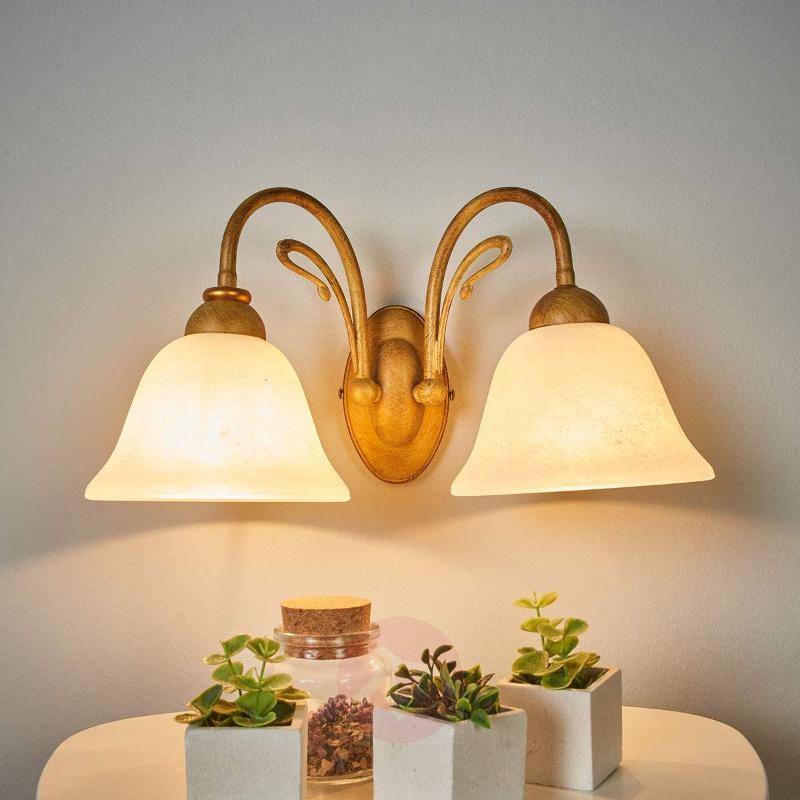 2-bulb wall light Antonio - Wall Lights