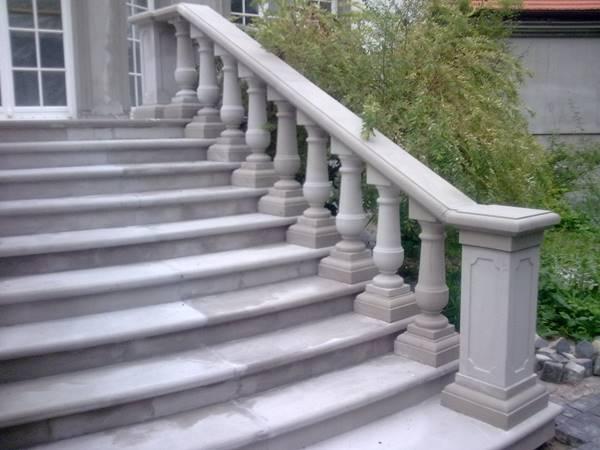 Geländer / Flächenpool - Granit, Marmor, Sandstein, Schiefer, Kalkstein, Travertin
