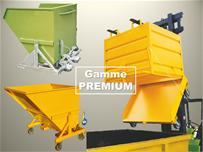 Bennes à déchets - gamme PREMIUM
