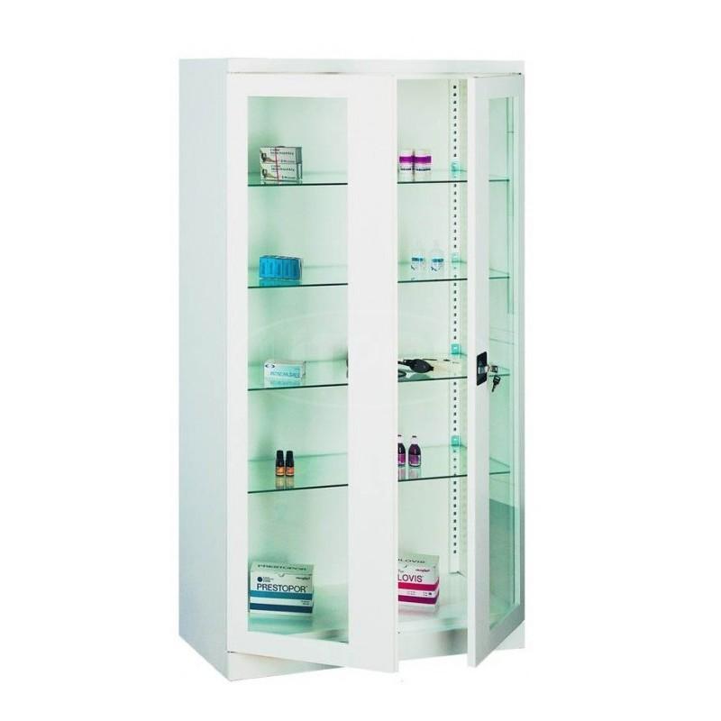 Шкаф металлический медицинский с переставными полками - Модель Sml 103