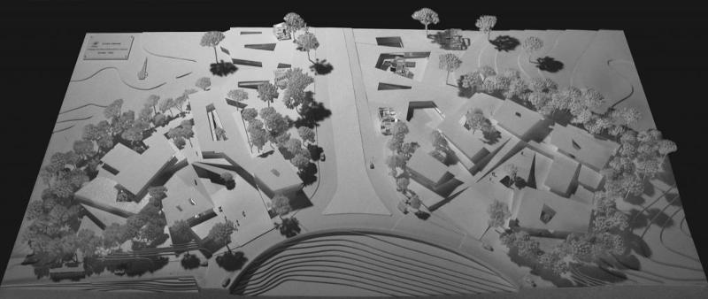 Étude urbaine - Réalisation de maquettes