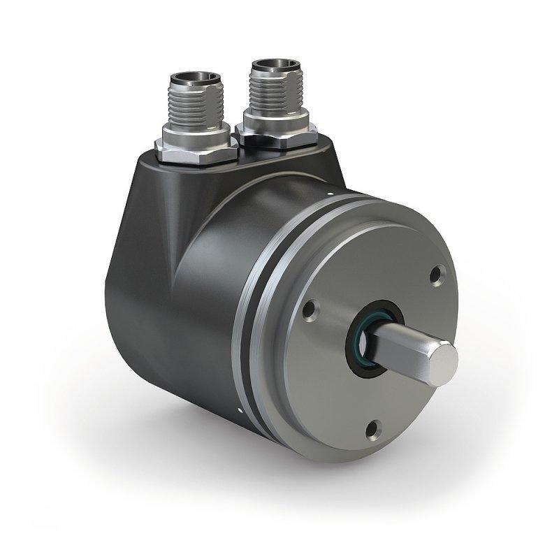 Absolute encoder WV58MR - Absolute encoder WV58MR, Absolute redundant safety rotary encoder