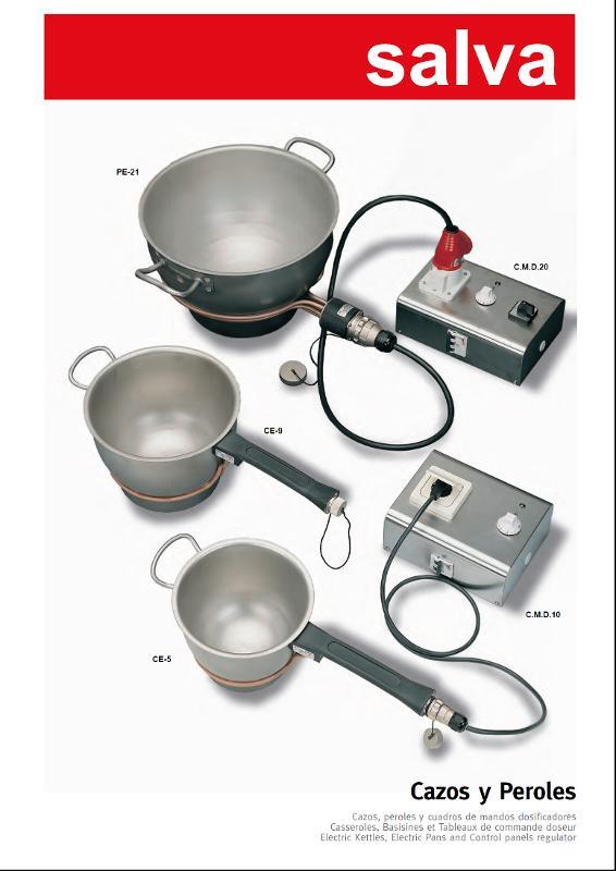 Klein materiaal - SALVA electrische kookketels