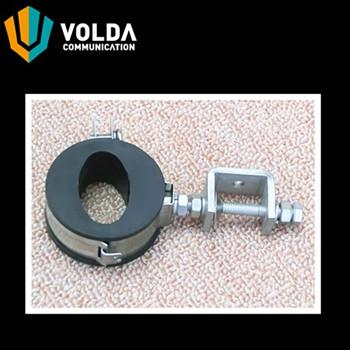 Clamp for DC Cable and Fiber Optic -