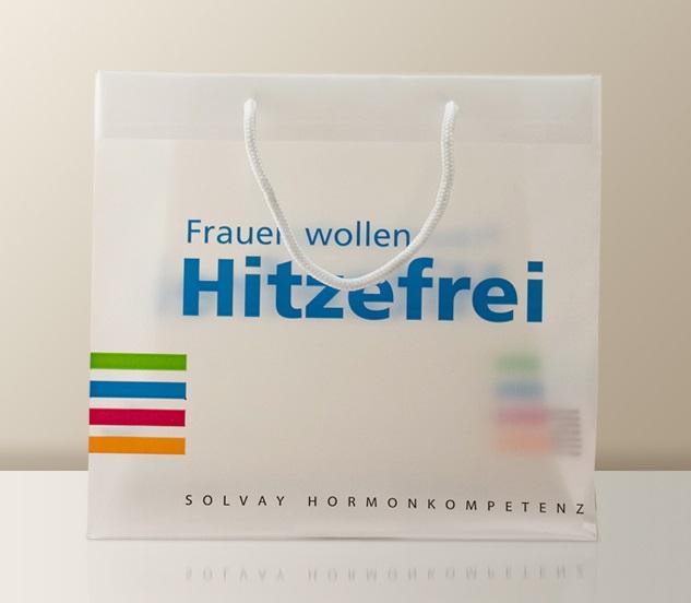 Exklusive Kunststoff-Taschen