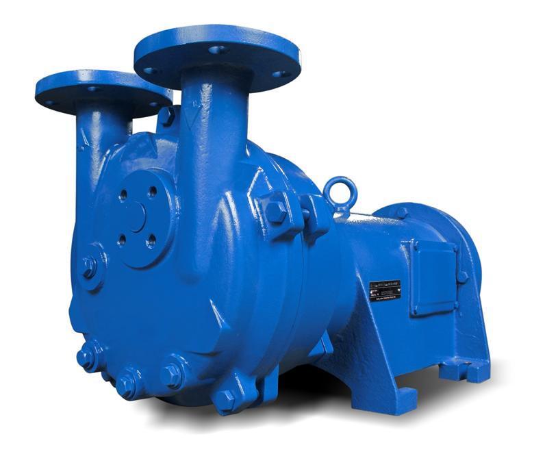 Classic Liquid Ring Vacuum Pumps and Compressors - 2AV2 Pedestal Mounted Liquid Ring Pumps