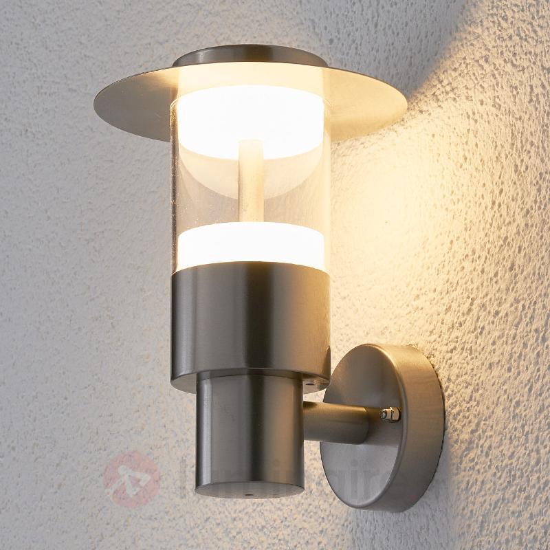 Applique d'extérieur LED Anouk en inox - Appliques d'extérieur LED