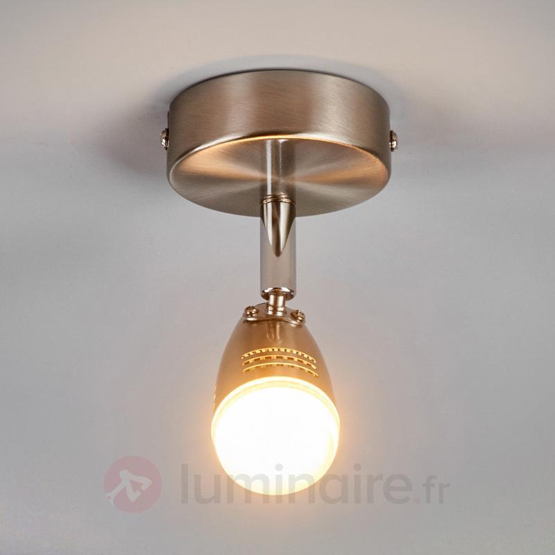 Élégant spot LED Andy pour le plafond et le mur - Spots et projecteurs LED