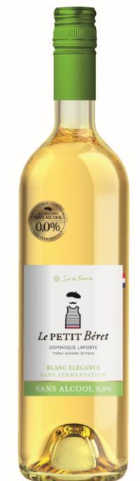 BLANC ELEGANCE SANS ALCOOL 0.0% ET SANS FERMENTATION - Boissons