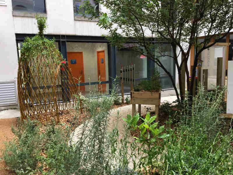Soins adapt s france entreprises for Jardin therapeutique
